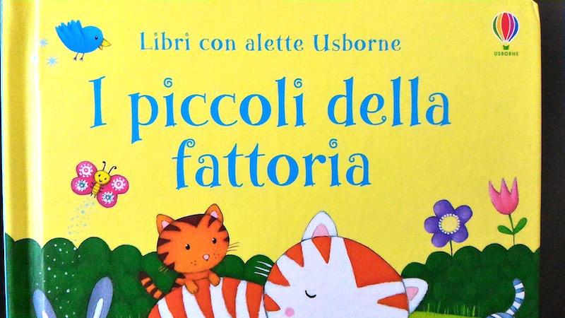 """Ben noto I piccoli della fattoria"""":un libro con gli animali più comuni che  OK86"""