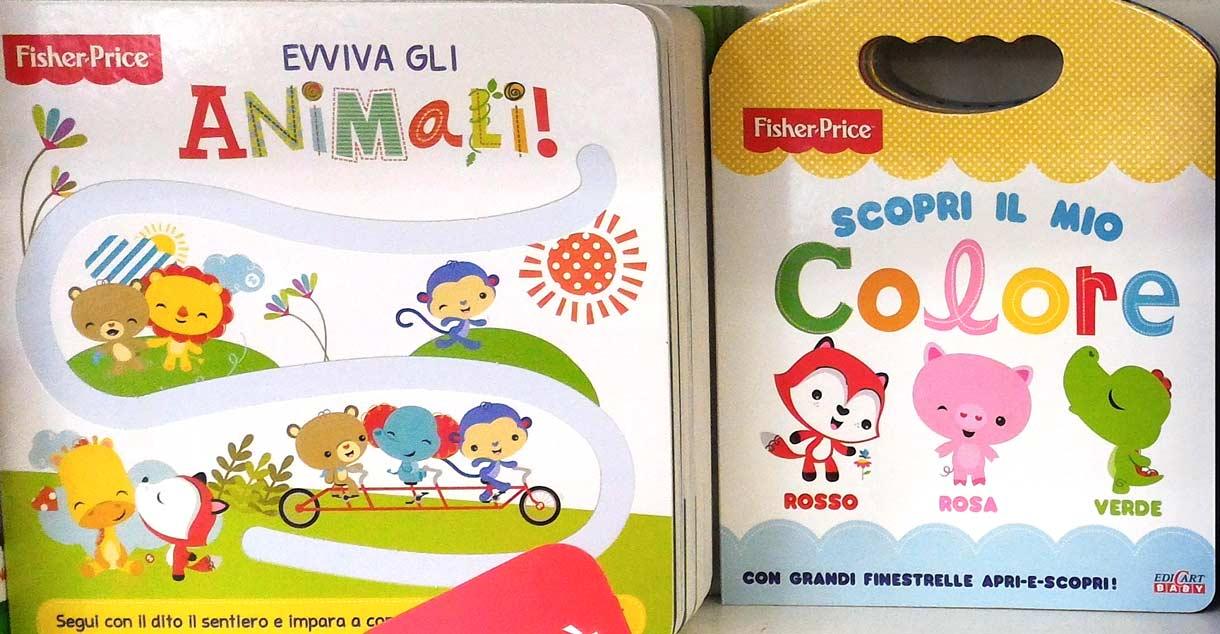 Popolare Libricini Fisher-Price: animali, colori, numeri da scoprire  UG67