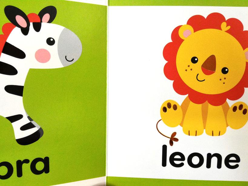 Libricini fisher price animali colori numeri da - Colore per numeri per i bambini ...