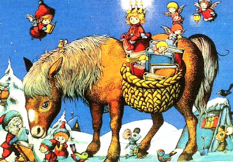 Tutto Sui Bambini Astrid Lindgren E Il Natale Ununione Magica