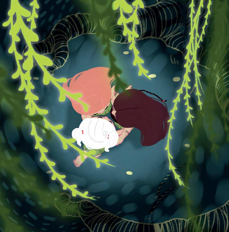 """spesso Panna nel grande giardino"""": un libro per bambini che unisce natura  HO89"""