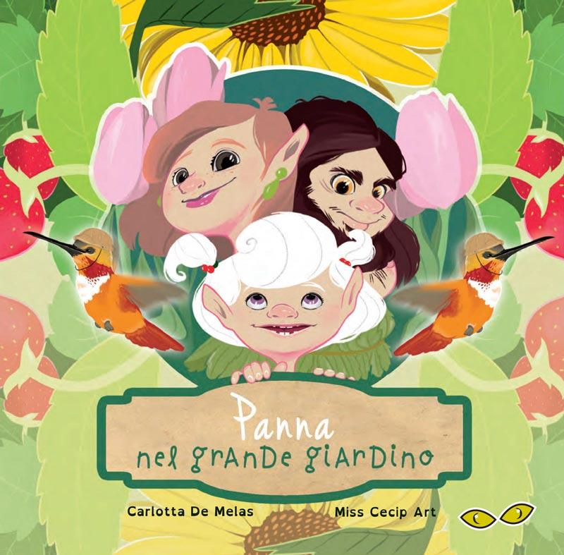 """Popolare Panna nel grande giardino"""": un libro per bambini che unisce natura  GF71"""