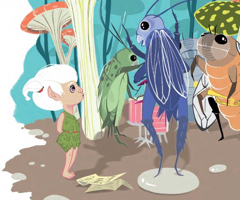 """Estremamente Panna nel grande giardino"""": un libro per bambini che unisce natura  UI49"""