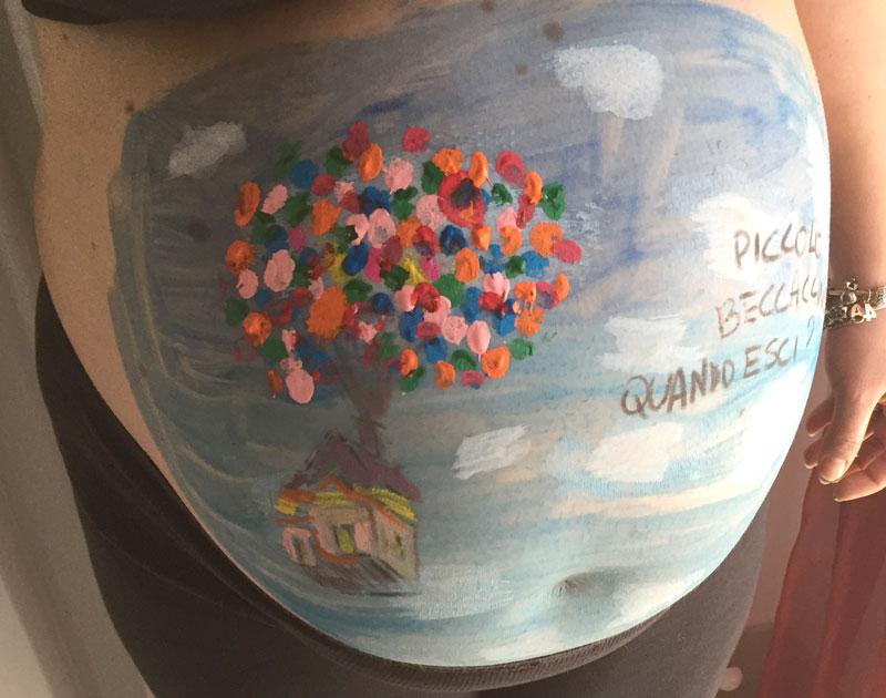 Belly Painting Pittura Del Ventre Materno Durante La Gravidanza