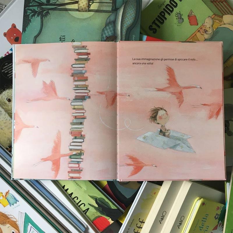 """""""La montagna di libri più alta del mondo"""": Rocio Bonilla"""